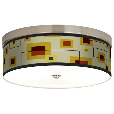 Windows Giclee Energy Efficient Ceiling Light