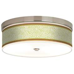 Stacy Garcia Lemongrass Dahlia Energy Efficient Ceiling Light