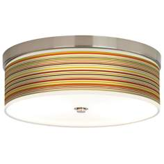 Stacy Garcia Lemongrass Stripe Energy Efficient Ceiling Light