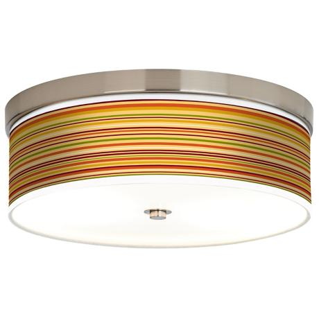 Stacy Garcia Harvest Stripe Giclee Energy Efficient Ceiling Light