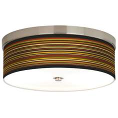 Stacy Garcia Spice Stripe Giclee Energy Efficient Ceiling Light