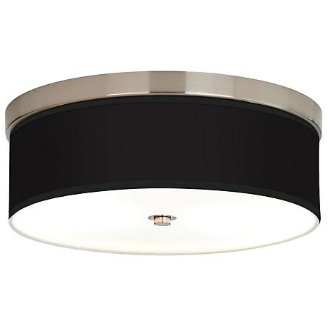 All Black Giclee Energy Efficient Ceiling Light