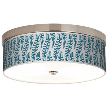 Stacy Garcia Fancy Fern Peacock Energy Efficient Ceiling Light