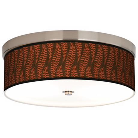 Stacy Garcia Fancy Fern Coral Energy Efficient Ceiling Light