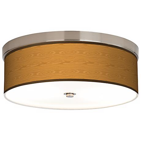 Wood Grain Giclee Energy Efficient Ceiling Light