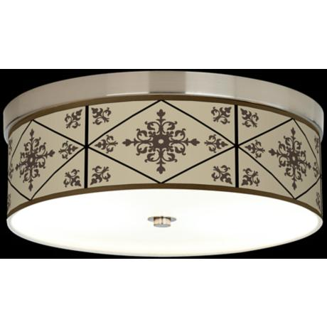 Chambly Giclee Energy Efficient Ceiling Light