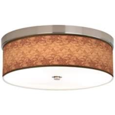 Sepia Lace Giclee Energy Efficient Ceiling Light