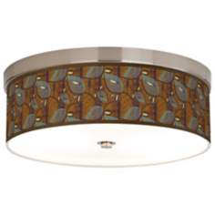 Stacy Garcia Theatric Vine Peacock Energy Efficient Ceiling Light