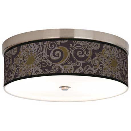 Stacy Garcia Ornament Metal Giclee Energy Efficient Ceiling Light