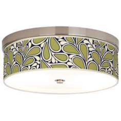 "Stacy Garcia Rain Metal Giclee 14"" Wide Ceiling Light"