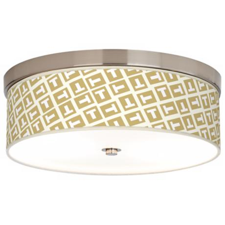 Tee Tumble Giclee Energy Efficient Ceiling Light
