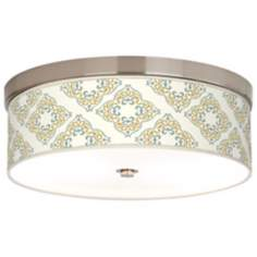 Aster Ivory Giclee Energy Efficient Ceiling Light