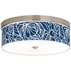 Jungle Rain Giclee Pattern Ceiling Light