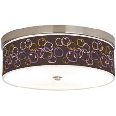 "Linger 14"" Wide Giclee Energy Efficient Ceiling Light"