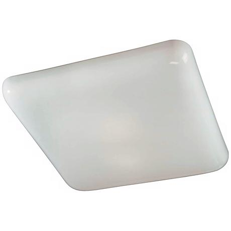 "Square Kitchen Fluorescent 19"" Wide Ceiling Light Fixture"