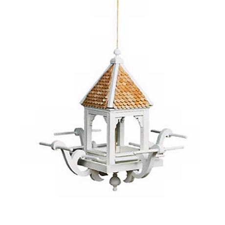 Four-Perch Gazebo Bird Feeder