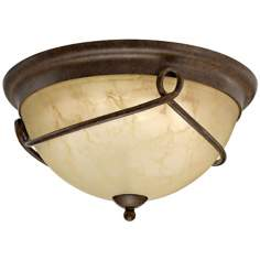 "Florentine Collection ENERGY STAR 14 3/4"" Wide Ceiling Light"