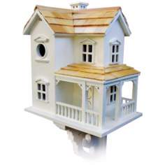 Cozy Two-Story Farmhouse Bird House