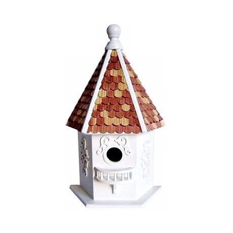 Story Book Hexagon Bird House