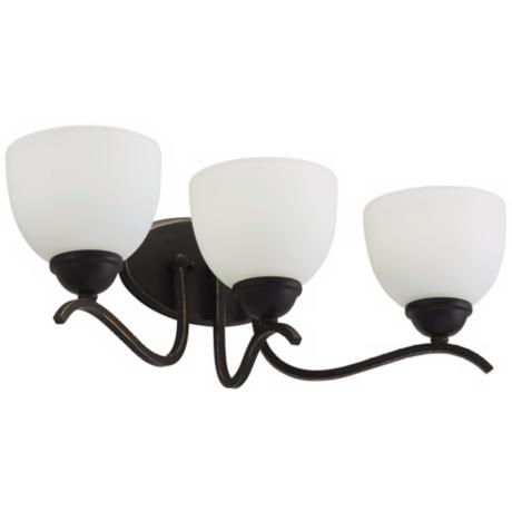 Blackwell Black Bronze ENERGY STAR® 3-Light Bath Light