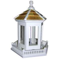 Hexagonal Gazebo Hanging Bird Feeder