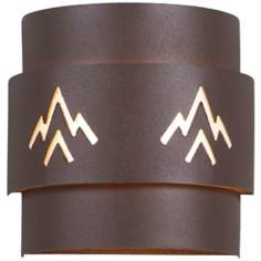 "Northridge Deception Pass 8"" High Outdoor Wall Light"