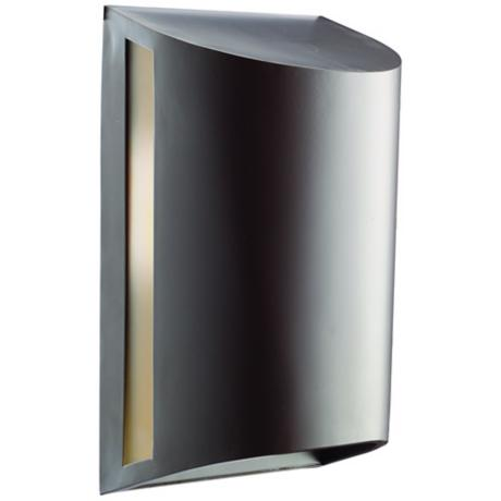"Kichler Curve Bronze ENERGY STAR 12"" High Outdoor Wall Light"