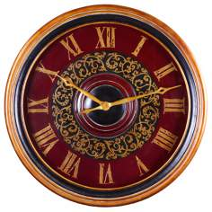 "Uttermost Natara 32"" Wide Wall Clock"