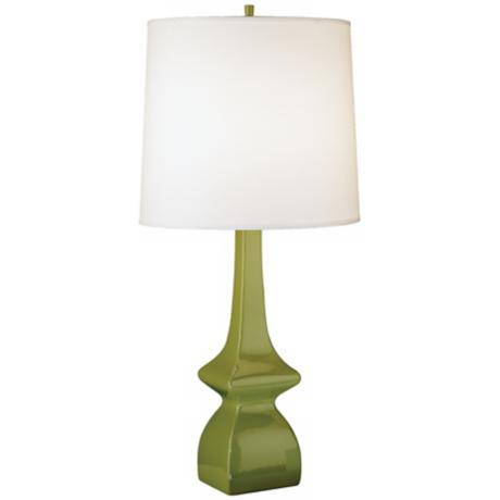 Jayne Artichoke Green Glazed Ceramic Table Lamp