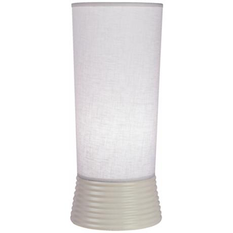Robert Abbey Fuzo Stardust White Accent Up-Light