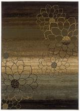 "Floral Silhouette 7' 8""x10' 1"" Area Rug"