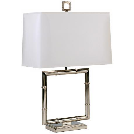 Jonathan Adler Meurice Polished Nickel Table Lamp