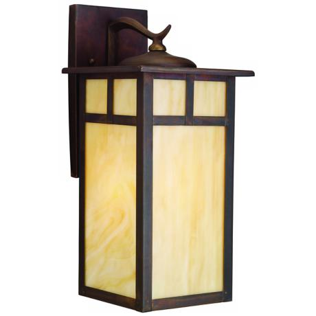 "Kichler Alameda 15"" High Outdoor Wall Light"