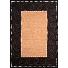 Econox Collection Java Brown Area Rug