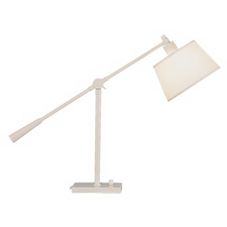 Robert Abbey Real Simple White Boom Desk Lamp