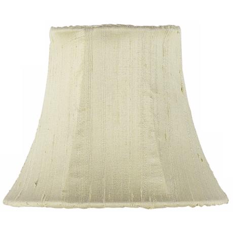Set of Three Celadon Silk Lamp Shades 3x5x4.25 (Clip-On)