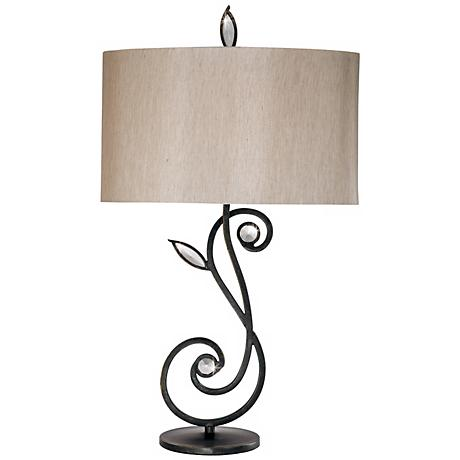 Kathy Ireland Garden Symphony Table Lamp