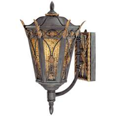 "Metropolitan Monte Titano 18 1/2"" High Outdoor Wall Light"