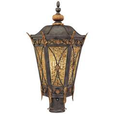 "Metropolitan Monte Titano 22"" High Outdoor Post Light"