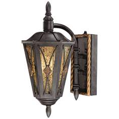 "Metropolitan Monte Titano 15 1/4"" High Outdoor Wall Light"