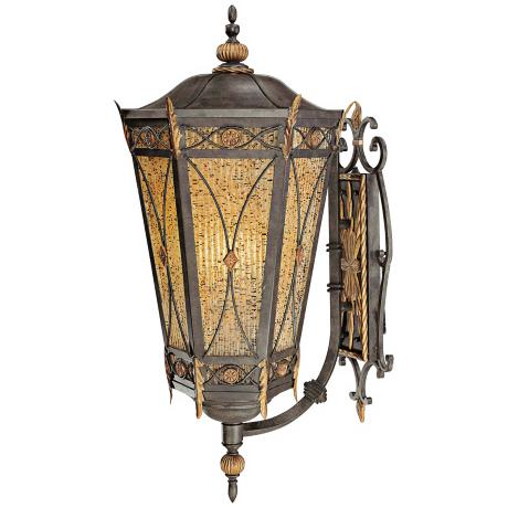 "Metropolitan Monte Titano 36 1/4"" High Outdoor Wall Light"