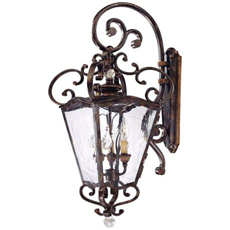 "Metropolitan Collection 31 3/4"" High Outdoor Wall Lantern"