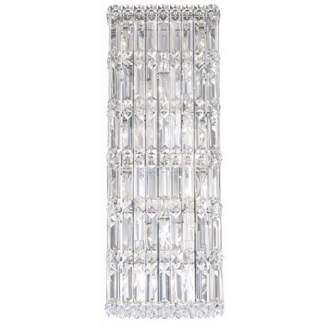 "Schonbek Quantum Spectra Crystal 25"" High Wall Sconce"