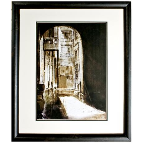 "Walt Disney 101 Dalmatians Archway Framed 39"" High Wall Art"