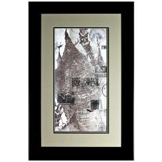 Walt Disney Fantasia Bald Mountain I Print Framed Wall Art