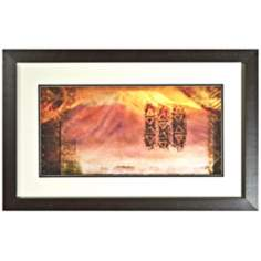 "Disney The Lion King Kilimanjaro Framed 30"" Wide Wall Art"