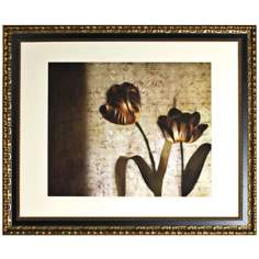 "Disney Alice in Wonderland Tulips Framed 37"" Wide Wall Art"