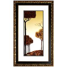 "Walt Disney Sleeping Beauty Trees I Framed 35"" High Wall Art"