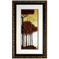 Walt Disney Sleeping Beauty Trees II Print Framed Wall Art