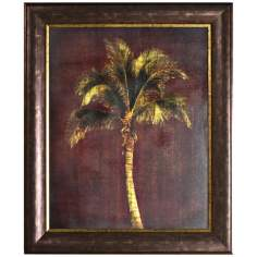 "Walt Disney Jungle Book Palm Tree Framed 35"" High Wall Art"